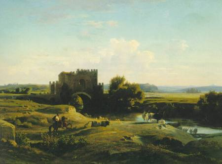 benouville_view_of_the_ponte_nomentano_in_the_roman_campagna