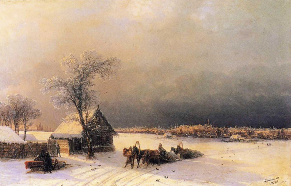 ivan_constantinovich_aivazovsky_-_moscow_in_winter_from_the_sparrow_hills